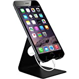 Cell Phone Stand,Sobetter iPhone Stand : Cradle, Dock, Holder For Switch, iPhone 7 6 6s Plus 5 5s 5c charging, Accessories Desk, all Android Smartphone - Black