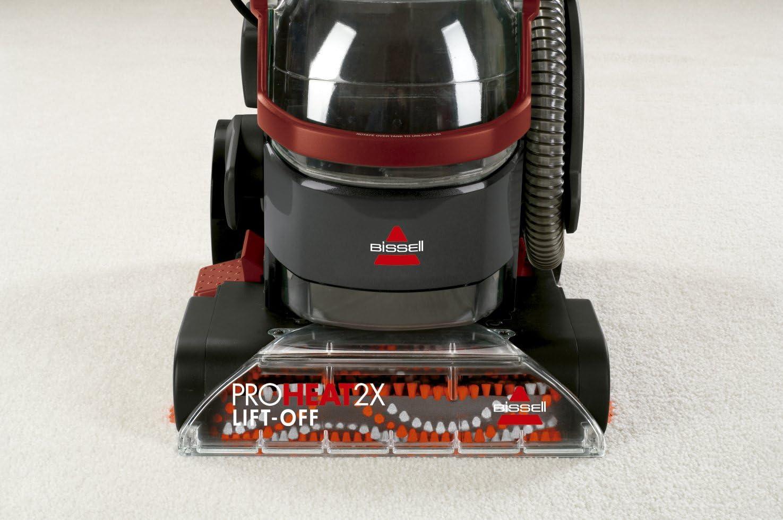 Grigio Titanio E Rosso 3.7 Litri 800 W Bissell 2072N Aspirapolvere e Pulitore per Tappezzerie 84 Decibel
