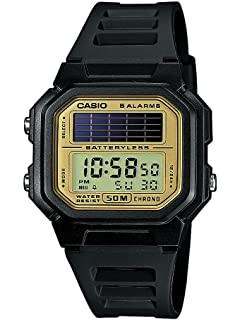 Casio CASIO Collection Men - Reloj digital de caballero de cuarzo con correa de resina negra