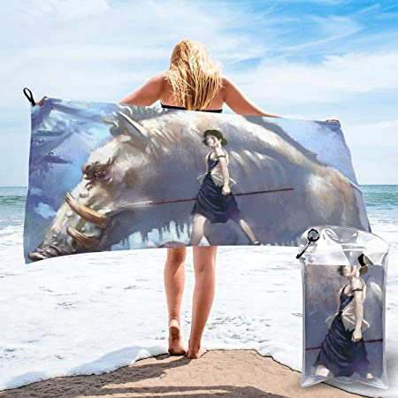 Quick Dry Towel Microfiber Bath Towel Cloth Travel Beach Sport Swimming GYM