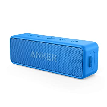 78eb72a5f11e2 Anker [Upgraded] SoundCore 2 Portable Bluetooth Speaker with 12W Stereo  Sound, Bluetooth 5, BassUp, IPX7 Waterproof, 24-Hour Playtime, Wireless  Stereo ...