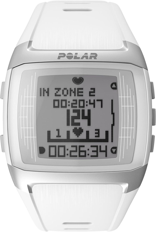 Polar FT60 - Pulsómetro, color blanco: Amazon.es: Deportes y aire libre