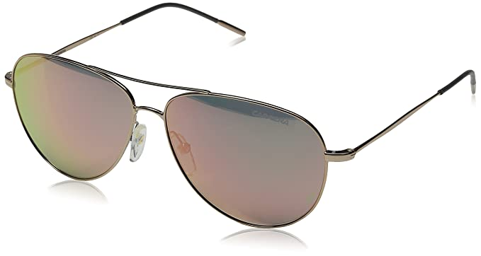 Amazon.com: Carrera Carrera 105/S Aviator Sunglasses, Gold Copper ...