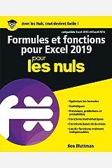 Formules et fonctions pour Excel 2019 pour les Nuls (French Edition) Kindle Edition