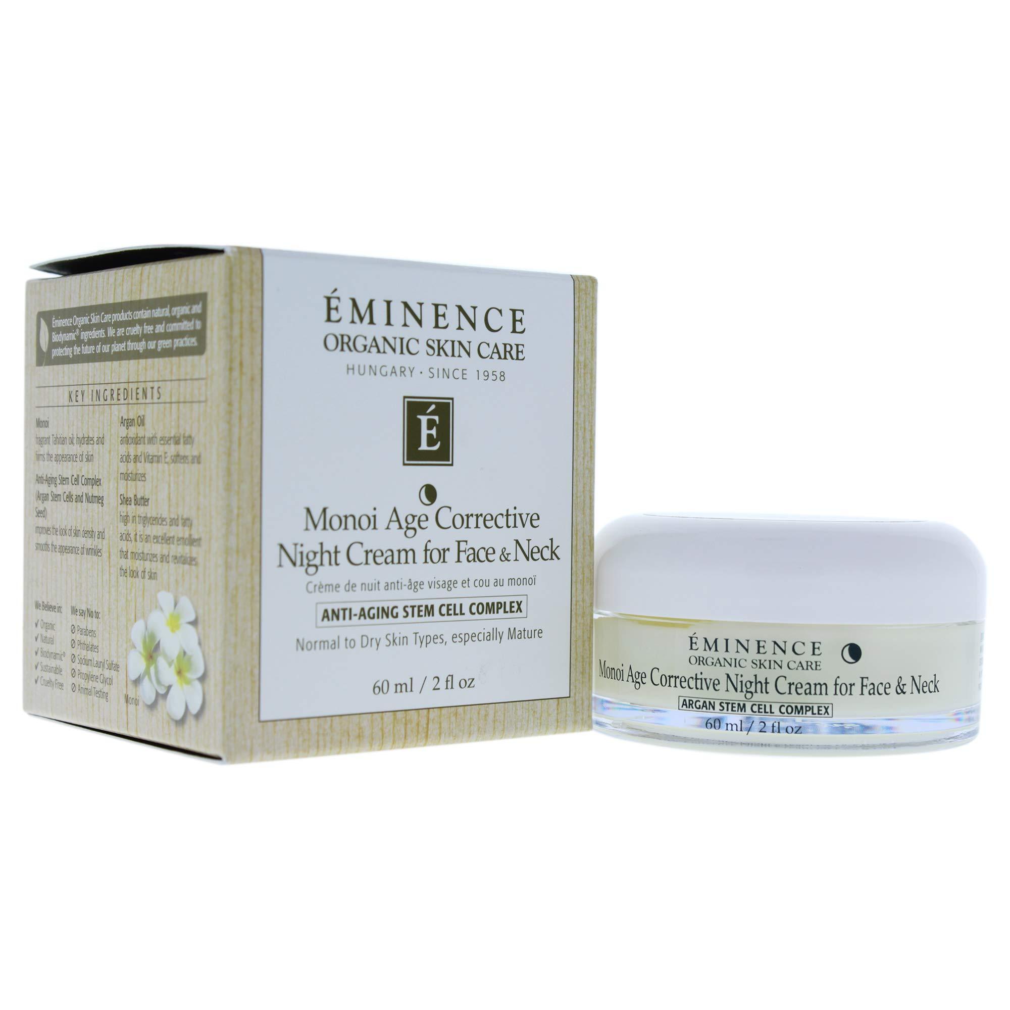 Eminence Organic Skincare Monoi Age Corrective Night Cream, 2 Ounce by Eminence