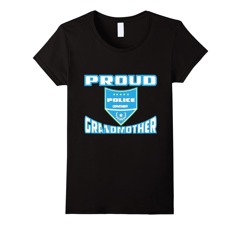 Proud Police Officer Grandma Tee Shirt Gift Idea-Teevkd