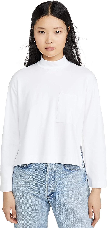 Stateside Womens Mock Sweatshirt