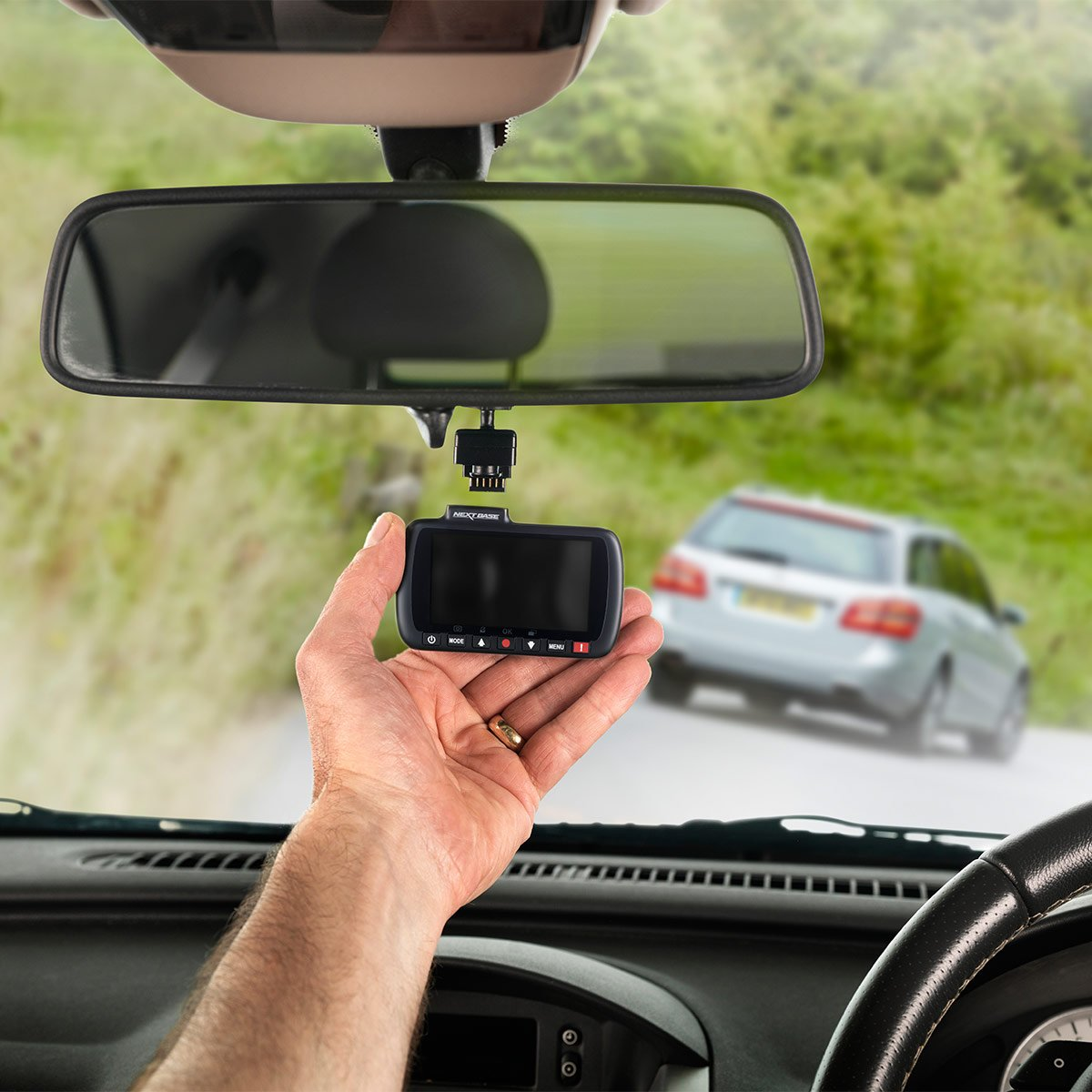 Amazon.com: AOB Dash Camera Car Dvr Recorder Cam Hd Video 1080p G Sensor Vehicle 2 Dual Lens Night Vision Full 7 4: Car Electronics