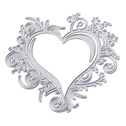J:Heart Cutting Dies Stencils,CMrtew Multi Shaped DIY Scrapbooking Paper Card Craft Decoration