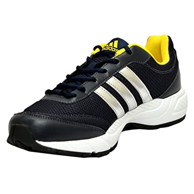 268d044b1 Image Unavailable. Image not available for. Colour: Adidas Men's Phantom M  Dark Blue and Yellow Mesh Running Shoes ...