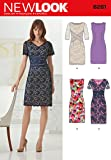 New Look Sewing Pattern 6261 - Misses Dresses Sizes: (8-10-12-14-16-18) by New Look