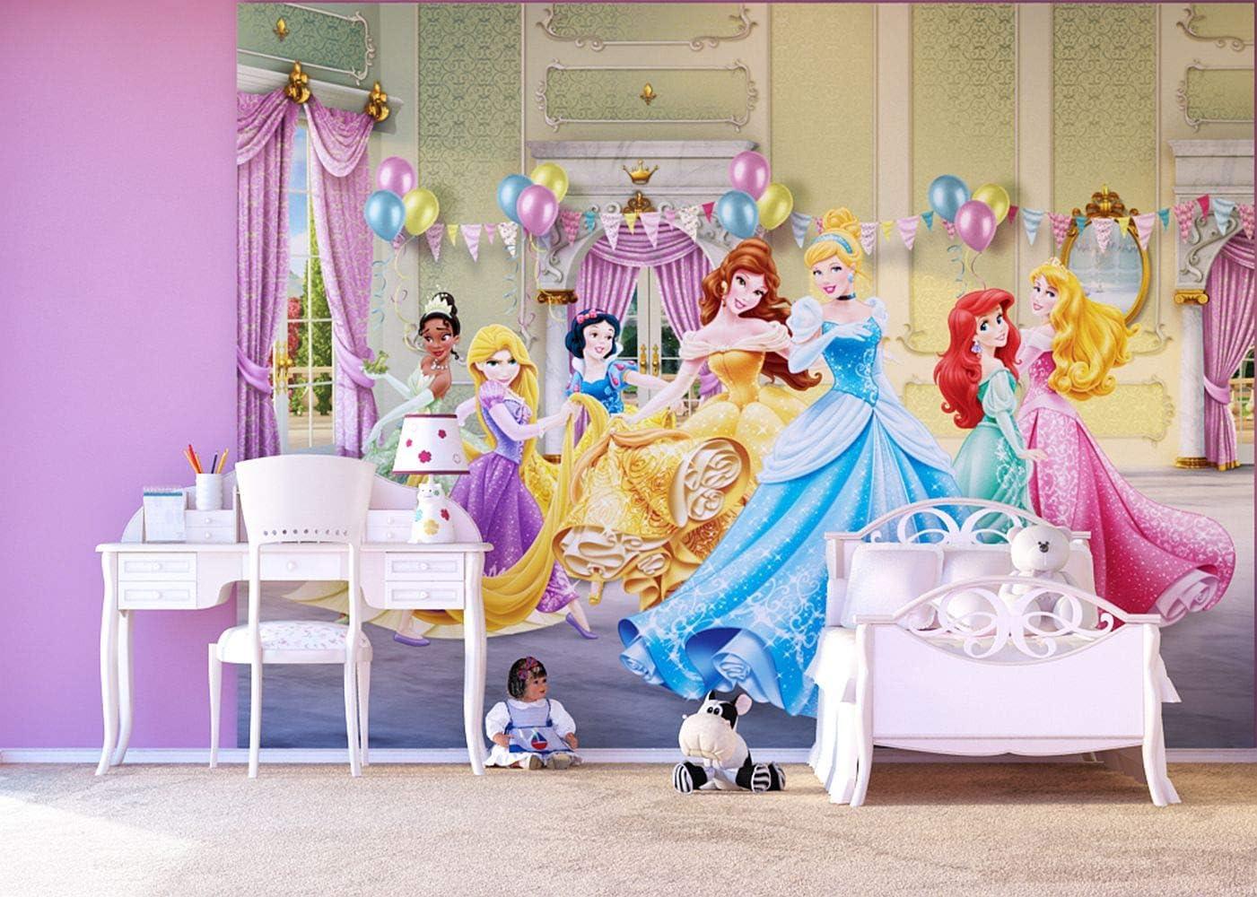 Dise/ño de AG FTDxxl2227 Fototapeten Bildtapete de Pared-de Tela fotomurales de Princesas Disney