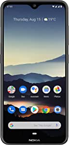 """Nokia 7.2 - Android 9.0 Pie - 128 GB - 48MP Triple Camera - Unlocked Smartphone (AT&T/T-Mobile/MetroPCS/Cricket/Mint) - 6.3"""" FHD+ HDR Screen - Charcoal - U.S. Warranty"""