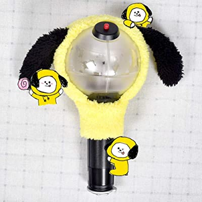 Teblacker BTS Lightstick Cover, Kpop Bangtan Boys Kawaii Limited Concert Lamp Army Bomb Light Stick Case for The Army(CHIMMY): Toys & Games