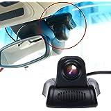 TOGUARD Caméra De Voiture Caméra Embarquée Full HD WiFi DASHCAM Discrète Mini Caméra Pour Voiture (DVR), 140° Angle De Capture, Super Condensateur (Novatek 96658), Enregistreur Numérique Pour Voiture