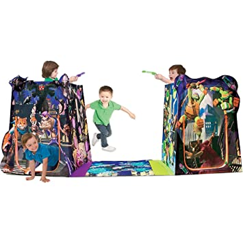 Playhut Teenage Mutant Ninja Turtles Battle Zone Game Tent (Over 9 Feet Long)  sc 1 st  Amazon.com & Amazon.com: Playhut Teenage Mutant Ninja Turtles Battle Zone Game ...