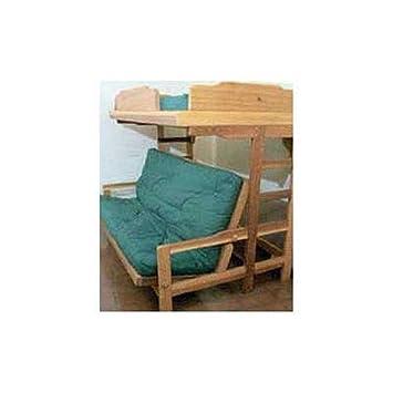 Woodworking Project Paper Plan to Build Futon Bunk Bed - Indoor ...