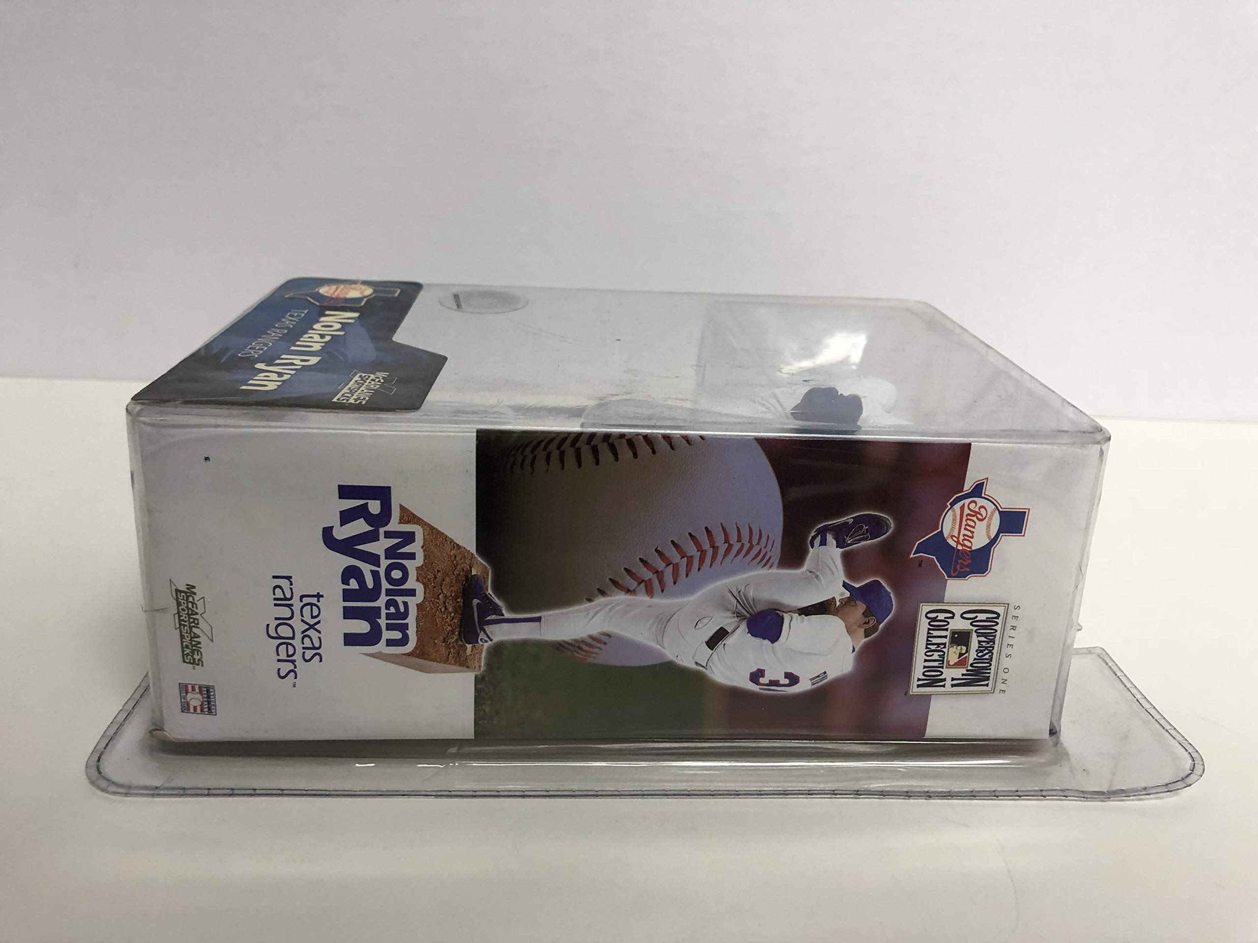 NOLAN RYAN McFarlane COOPERSTOWN COLLECTION Texas Rangers Toy action figure