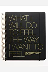 The Desire Map Planner from Danielle LaPorte 2018 Daily (Charcoal & Gold) Spiral-bound