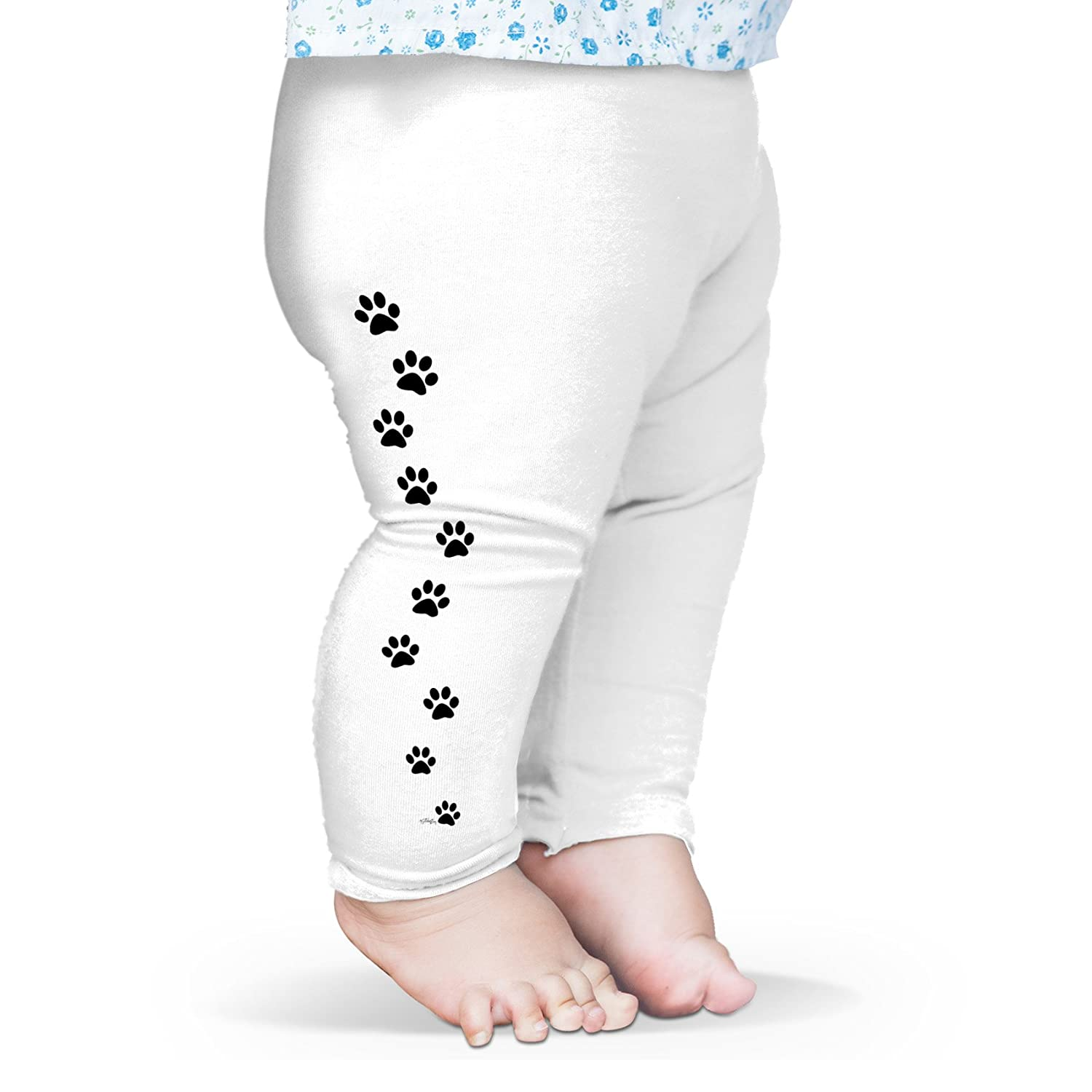 TWISTED ENVY Paw Prints Baby Printed Leggings Trousers