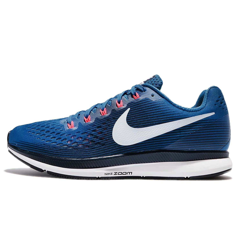 d4ec64f088 Amazon.com | Nike Men's Air Zoom Pegasus 34 Running Shoe Blue Jay/LT Armory  Blue-Obsidian 15.0 | Road Running