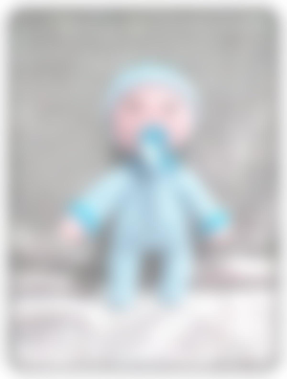 Peluche dormilón azul con chupete, especial bebés, de ...