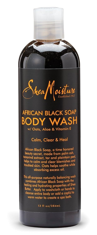 Shea Moisture African Black Soap Body Wash 384ml