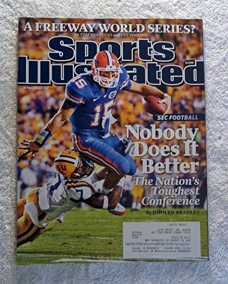274cae345d0 Tim Tebow - Florida Gators - SEC Football - Nobody Does It Better - Sports  Illustrated