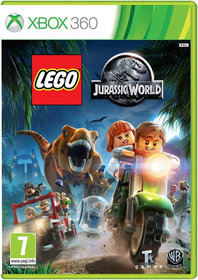 Amazon.com: LEGO Jurassic World (Xbox 360): Video Games