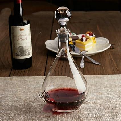 yiyang Wine Decanter, Inflador De Vino, Botella De Vino Rojo, Regalo De Vino