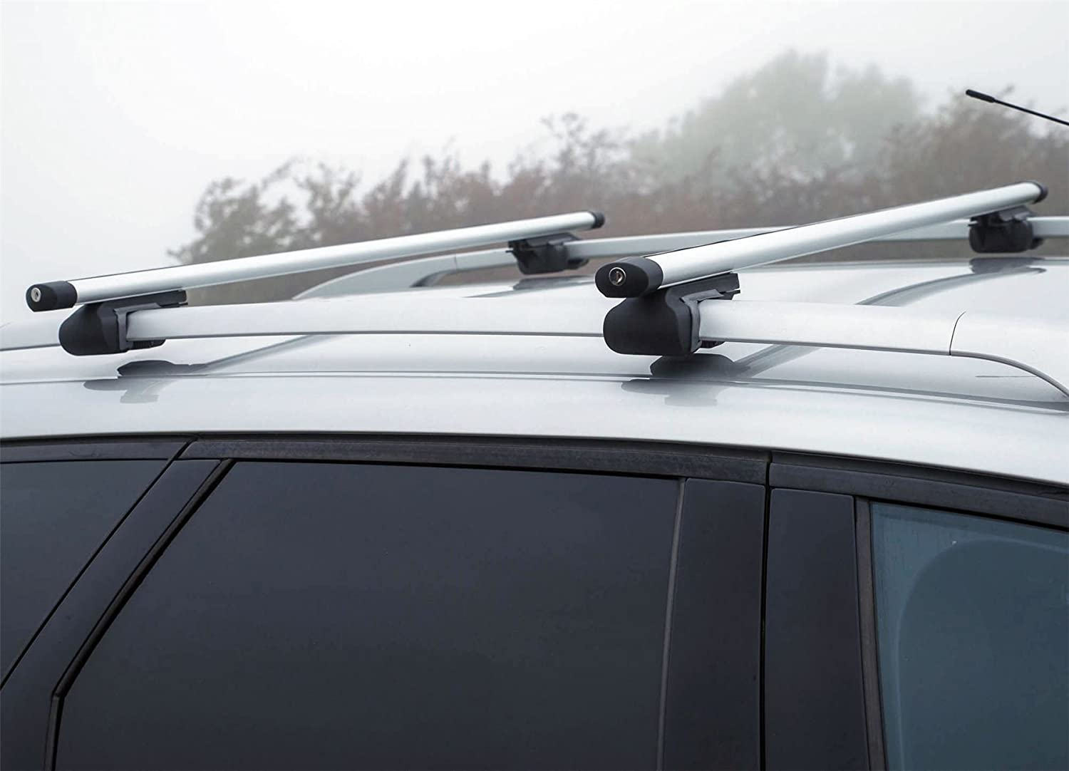 UKB4C Aluminium Roof Rack Cross Bars fits Citroen C3 Picasso 2009-2016 5 Door