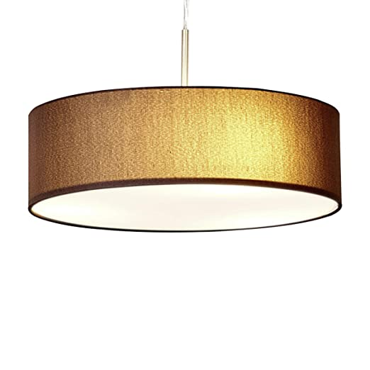 Lampenwelt Pendelleuchte Sebatin Dimmbar Modern In Braun Aus