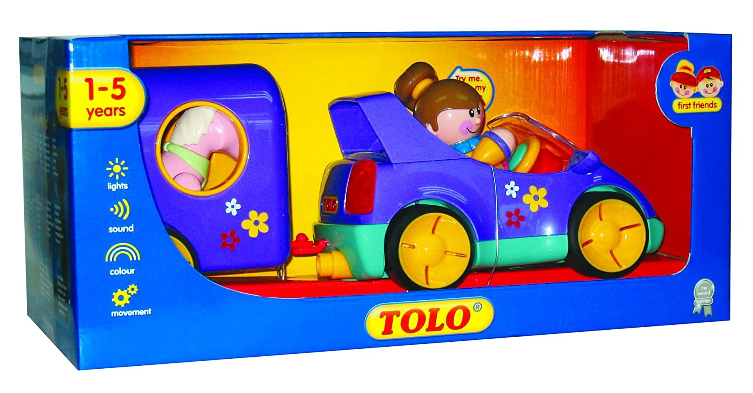 Tolo Toys First Friends Pony Club Pastel Colors