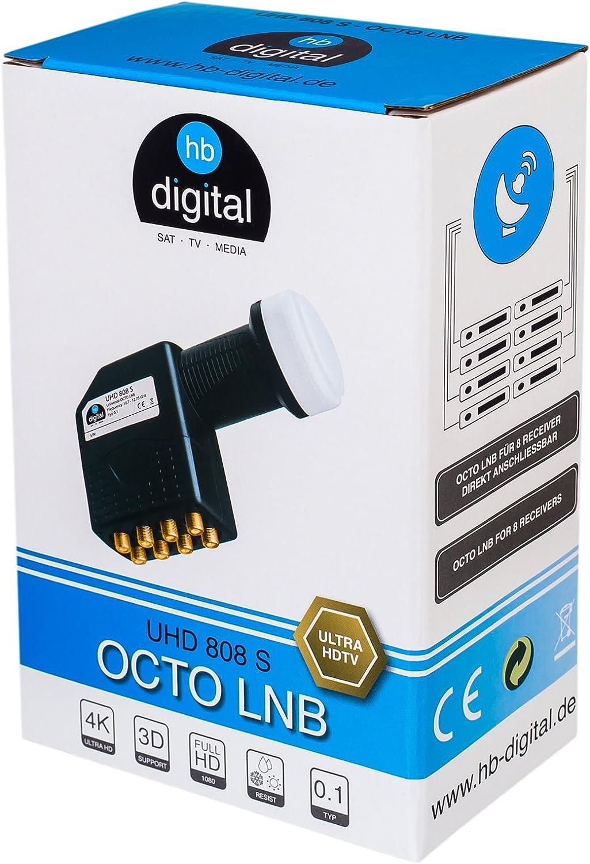 HB-Digital LNB LNC - Conector con contactos chapados en oro ...