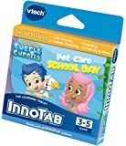 VTech InnoTab 1 2 3 3S MAX Plus Software: Bubble Guppies - Pet Care School Day - Teaches Life Science, Colour Matching, Counting, Creativity, Reading and More