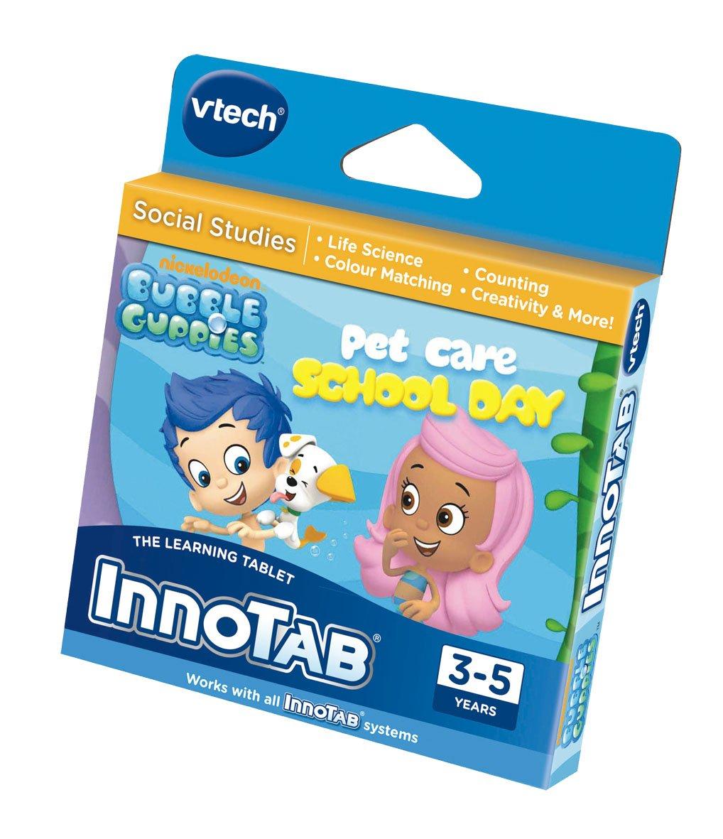 VTech InnoTab del programa: Bubble Guppies Día Escolar del cuidado de animales