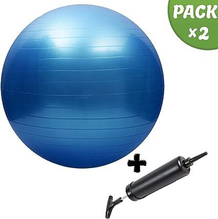 Slosy Pelota de Pilates 75cm para Embarazadas Bola de Yoga Kit ...