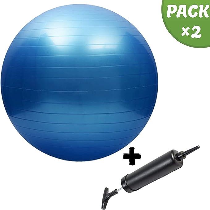 Slosy Pelota de Pilates 75cm para Embarazadas Bola de Yoga Kit Balon Fitness + Inflador Anti-Explosion Gimnasia, Fitball, Embarazo, Gym Balon Elástico para Deporte y Entrenamiento: Amazon.es: Deportes y aire libre