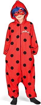 Disfraz de Miraculous Ladybug Pijama con Peluca para niña ...
