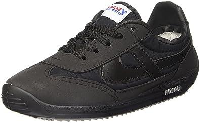 PANAM Tennis Shoes | Classic & Iconic | Handcrafted Zapatillas | Diamante Negro | (US) Men 4.5 / Women 6