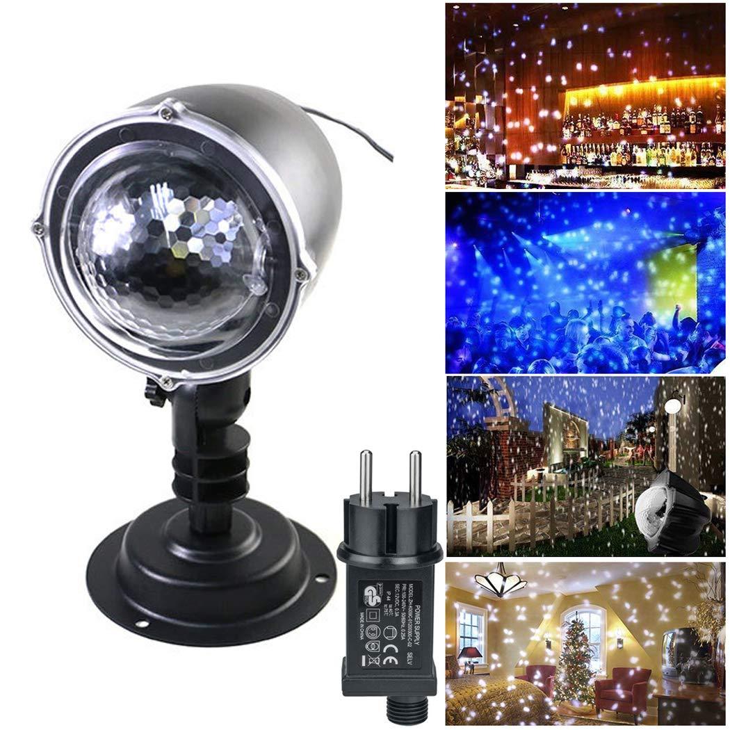 Kaimus LED Schneefall Projektor Wasserdichte Beleuchtung Lampe Romantische Projektor für Weihnachten Halloween Party Indoor Outdoor