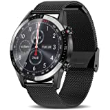 AERFA Smart Watch for Android iOS Phones (Receive/Make Calls,46mm,Bluetooth) Smart Watches with Heart Rate Step Sleep Tracker