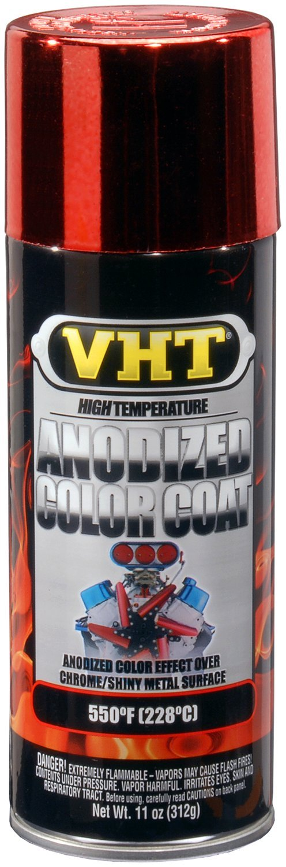 VHT SP450-6 PK (ESP450007-6 PK) Red High Temperature Anodized Color Coat - 11 oz. Aerosol, (Case of 6)