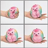 BeYumi Slow Rising Toy, Kawaii Hedgehog, Star