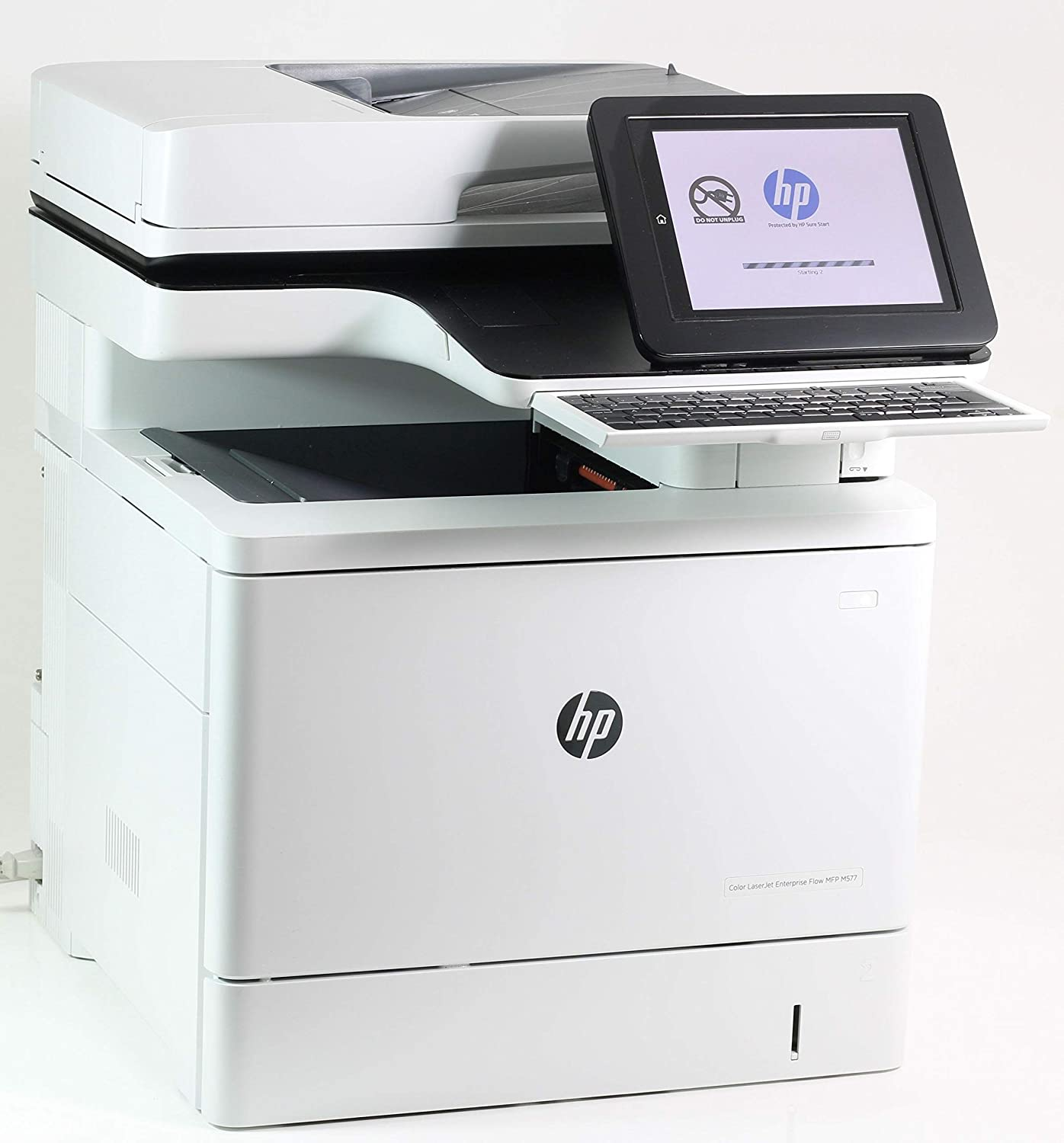 Color Laserjet Enterprise Flow MFP M577c Wireless Printer, Copy/Fax/Print/Scan, Sold as 1 Each