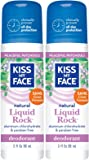 Kiss My Face Paraben Free Liquid Rock Roll-On Deodorant, Patchouli - 3 oz - 2 pk