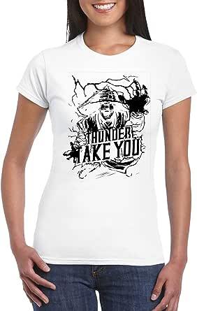 Female Gildan Short Sleeve T-Shirt - Raiden – Thunder take you design