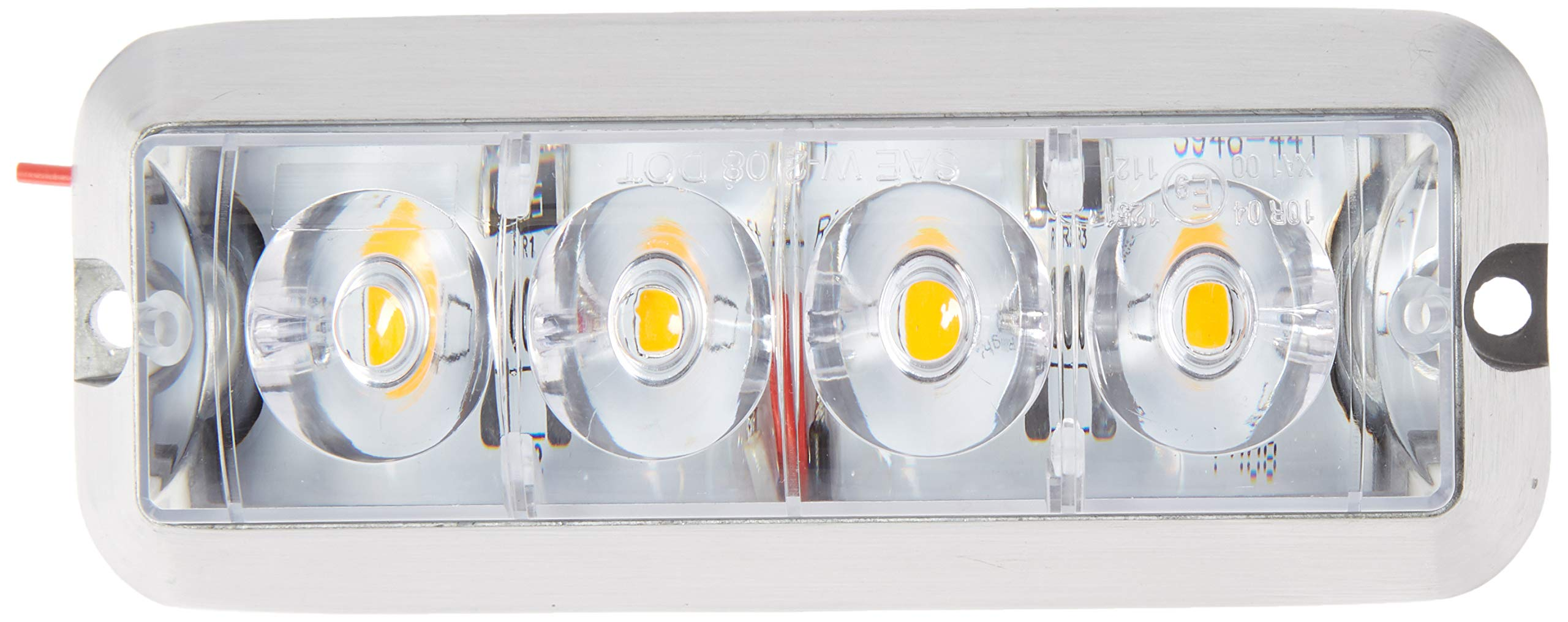 Buyers Products 8891104 Amber LED Strobe Light (4-7/8in)