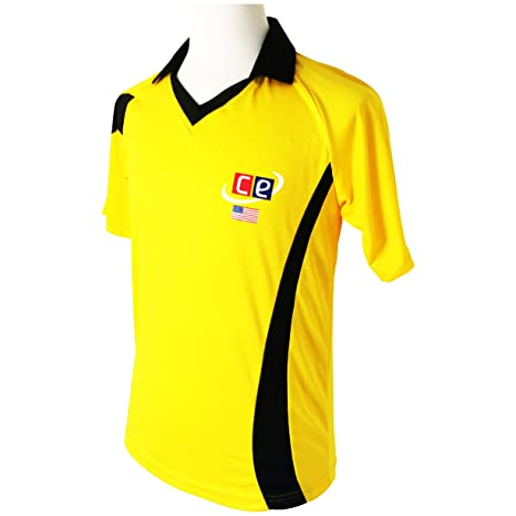 CE Colored Cricket Kit Shirts & Pants - Australian Colors Half Sleeves Cricket Jersey & Pants