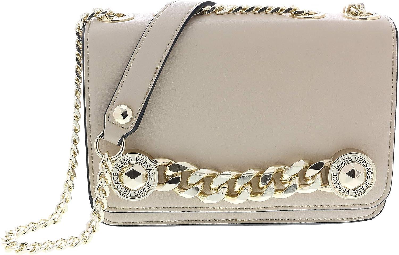 Versace Linen Beige Shoulder Bag-EE1VTBB16 E723 for Womens